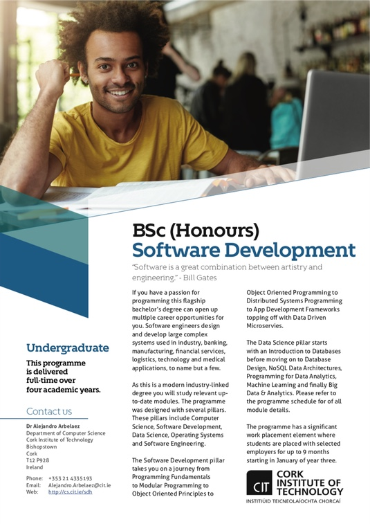 BSc (Hons) Software Development
